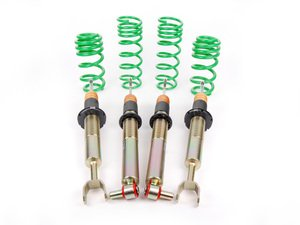 ES#4056516 - 13210037 - ST X Performance Coilover System - Fixed Damping - Average lowering of 1.6'' to 2.75'' front and 1.6'' to 2.75'' rear - Suspension Techniques - Audi