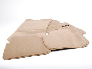 ES#195878 - 82111470422 - Floormat Set - Sand - Replace those worn out or missing floor mats - Genuine BMW - BMW