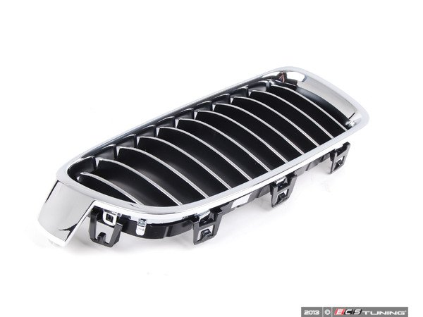 Genuine bmw 51137263482 luxury line kidney grille for Chrome line exterieur bmw