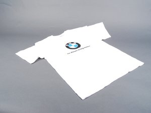 ES#196529 - 82221469286 - Ultimate driving machine t shirt - large - Feature BMW roundel in the center - Genuine BMW - BMW