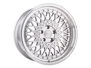 "ES#2642472 - M220KT4 - 18"" M220 Wheels - Staggered Set Of Four  - 18""x8"" ET45 5x112/18""x9"" ET35 5x114 - CB57.1 Machine Silver - Avant Garde - Audi"