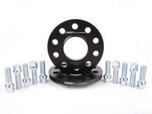 ES#2603075 - 002411ECS02AKT3 -  Wheel Spacer & Bolt Kit - 12.5mm With Ball Seat Bolts - Complete kit for two wheels, includes everything you need to install spacers - ECS - Audi