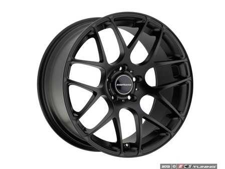 "ES#2642535 - M310KT7 - 18"" M310 Wheels - Set Of Four  - 18""x8"" ET35 CB66.6 5x112 Matte Black - Avant Garde - Audi"