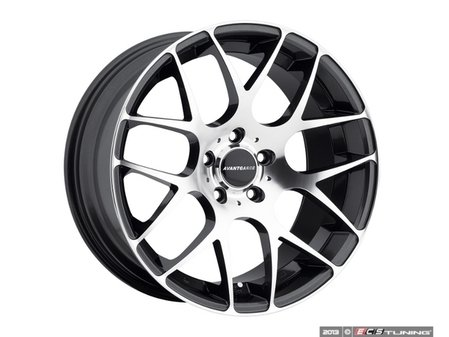 "ES#2642548 - M310KT25 - 18"" M310 Wheels - Staggered Set Of Four - 18""x8"" ET45/18""x9"" ET48 - CB57.1 5x112 Machine Gunmetal - Avant Garde - Audi"