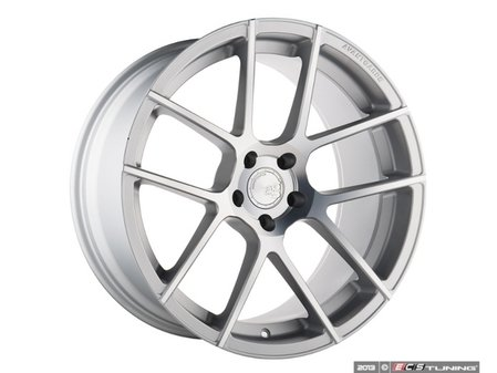 "ES#2642574 - M510KT4 - 20"" M510 Wheels - Staggered Set Of Four  - 20""x8.5"" ET32/20""x10"" ET35 - CB57.1 5x112 Satin Silver - Avant Garde - Audi"
