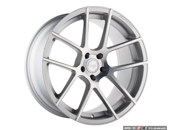 "ES#3221095 - M510KT18 - 20"" M510 Wheels - Set Of Four - 20""x10"", ET35,CB66.6, 5x112 - Satin Silver - Avant Garde - Audi"