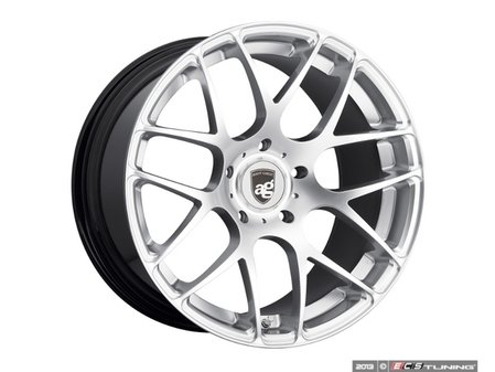 "ES#3134078 - RMSH-12KT1 - 20"" Ruger Mesh - Staggered Set Of Four - 20x8.5 ET45 And 20x11 ET52 - 5x130, 71.6CB - Hyper Silver - Avant Garde - Porsche"