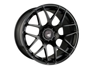 "ES#3132768 - RMSH-78KT - 22"" Ruger Mesh - Staggered Set Of Four - 22x9.5 ET50 And 22x10.5 ET45 - 5x130, 71.6CB - Matte Black - Avant Garde - Porsche"