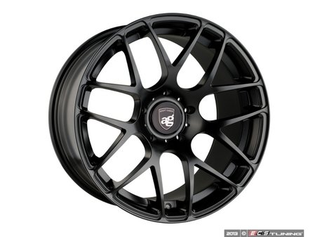 """ES#3132761 - rmsh-4KT2 - 20"""" Ruger Mesh - Staggered Set Of Four - 20x8.5 ET45 And 20x11 ET40 - 5x130, 71.6CB - Matte Black - Avant Garde - Porsche"""