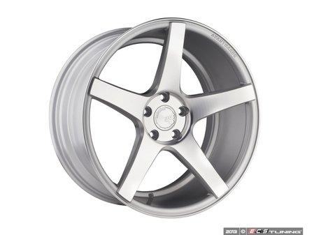 "ES#2642312 - M550-3 - 20"" M550 - Priced Each (Only 2 Available) - 20""x10"" ET25 5x112 66.6CB - Satin Silver - Avant Garde - Audi Volkswagen"