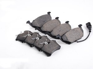 ES#2593306 - MK420PAD - Front & Rear Brake Pad Kit - Semi metallic brake pads offering great bite and no noise - Centric - Volkswagen