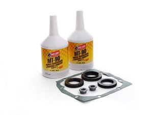 ES#2586776 - 33111211708KT - Differential Service Kit - Everything you need to service your differential, featuring Redline 75w90 - Assembled By ECS - BMW