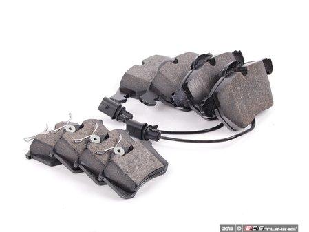 ES#2637058 - 4B0698151JKT2 - Front & Rear Brake Pad Kit - Semi metallic brake pads offering great bite and no noise - Vaico - Audi Volkswagen