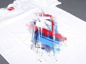 ES#2596697 - 80142296236 - BMW Motorsports T Shirt - Small  - Bold BMW M stripes and logo - Genuine BMW - BMW