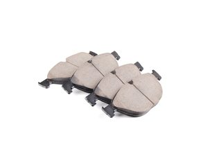 ES#2623215 - 34116851269 - Front Euro Ceramic Brake Pad Set - Offers excellent pedal feedback, low dust, and smooth initial bite. A favorite among BMW enthusiasts. - Akebono - BMW