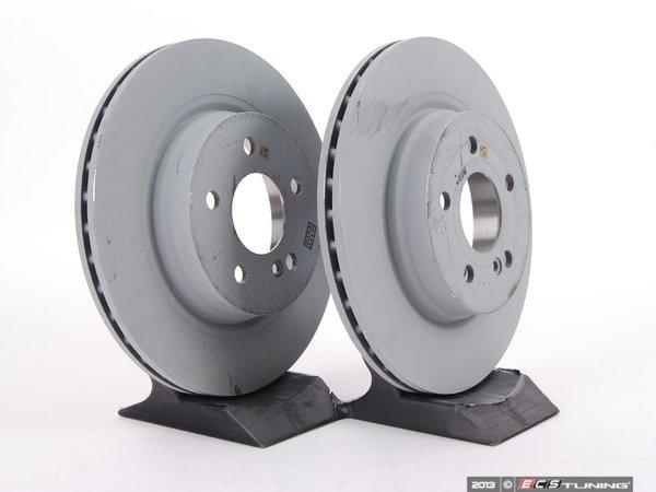 Genuine mercedes benz 000423121207kt1 rear brake for Mercedes benz rotors