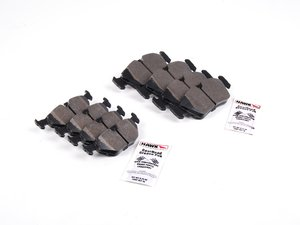 ES#2642644 - HB227F.630KTE36 - Front And Rear Brake Pad Kit - Hawk HPS - One of the best-selling all around performance brake pads - Hawk - BMW
