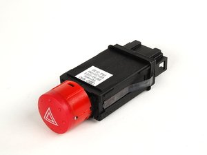 ES#455638 - 8N0941509B - Hazard Flasher Switch - Incorporates turn signal relay - Genuine Volkswagen Audi - Audi