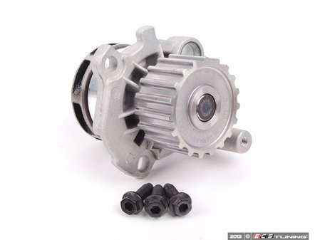 ES#2145 - 038121011A WSB - Water Pump - Kit - Featuring a metal impeller, includes O-Ring and Stretch Bolt - Assembled By ECS - Volkswagen