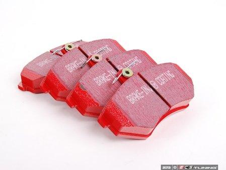 ES#2612205 - DP3841/2CKT - Front & Rear EBC Redstuff Performance Brake Pad Kit - A high performance street pad, featuring Kevlar technology. - Assembled By ECS - Volkswagen
