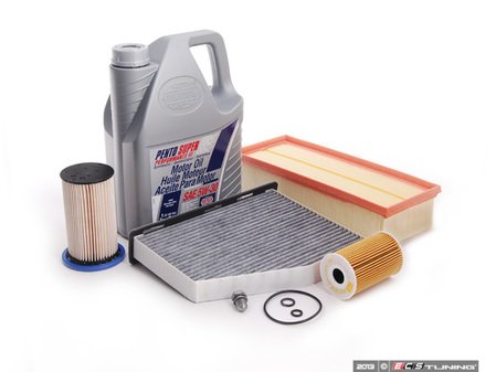 ES#2635430 - B7TDI40KKT7 - ECS Tuning 40K Service Kit - Kit including oil and all the required filters to keep your TDI running efficiently - Assembled By ECS - Volkswagen