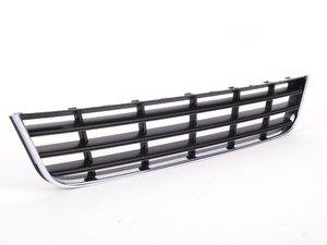 ES#343816 - 3C0853671C9B9 - Lower Center Grille - Standard black with chrome trim - Genuine Volkswagen Audi - Volkswagen