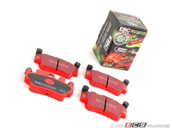 EBC RedStuff Rear Brake Pads for Porsche 911 996 3.6 Twin Turbo 4S DP31514C
