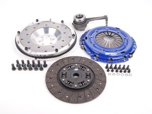 ES#2568942 - SV871-2ALKT -  Stage 1 Clutch Kit - Aluminum Flywheel (9lbs) - Streetable clutch holds up to 350 FT LBS TQ - Spec Clutches - Audi Volkswagen