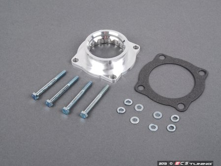 ES#2207803 - 46-31008 - Silver Bullet Throttle Body Spacer Kit - Gain up to ten extra horses with this simple bolt on! - AFE - BMW