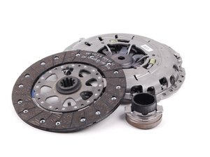 ES#41150 - 21217523620 - Remanufactured Clutch Kit - 5 Speed Transmission - Does not include pressure plate bolts - Genuine BMW - BMW