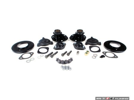 ES#2587024 - 31312489795KT - Cup Kit/Coilover Installation Kit - Everything you need to install coilovers, shocks/struts, or a cup kit including shock mounts - Assembled By ECS - BMW