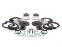 ES#2593733 - 51717036781KT - Cup Kit/Coilover Installation Kit - With Spring Pads - Everything you need to install coilovers, shocks/struts, or a cup kit on your BMW including HD rear shock mounts - Assembled By ECS - BMW