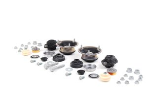 ES#2622813 - 31306775098KT1 - Cup Kit/Coilover Installation Kit - Everything you need to install coilovers, shocks/struts, or a cup kit on your BMW - Assembled By ECS - BMW