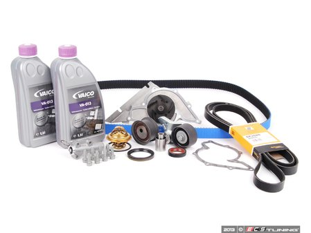 ES#2569871 - 078109119JKT4 - ECS Tuning Timing Belt Kit - Ultimate Plus With Gates Racing Timing Belt - Looking for the best timing belt kit on the market? Look no further than ECS Tuning - Assembled By ECS - Audi