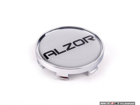 ES#2158218 - C888-A - Center Cap - Silver/Chrome - Priced Each  - For the Alzor style 604 & 620 wheels. 56mm - Alzor - Audi Volkswagen