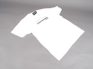 ES#2642458 - 13052-LG - Beetle Silhouette Tee - Large - White shirt with beetle silhouette  - DriverGear - Volkswagen