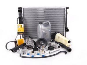 ES#2636027 - 61311384739KT4 - Cooling Maintenance Kit - Level 3 - The ultimate cooling refresh kit - featuring a Geba water pump with metal impeller - Assembled By ECS - BMW