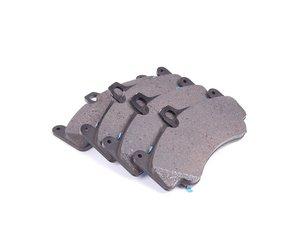 ES#1499366 - 99735194802 - Front Brake Pad Set - PCCB front brake pad set - Genuine Porsche - Porsche
