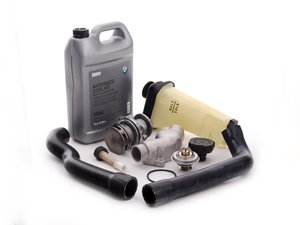 ES#2636023 - 61311384739KT - Cooling System Refresh Kit - Level 1 - Stop your cooling problems before they start - featuring a GEBA water pump and an aluminum thermostat housing - Assembled By ECS - BMW
