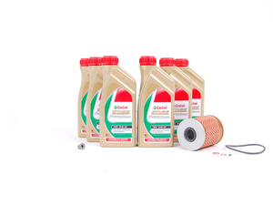ES#2643164 - 11427833769EOKT - Inspection I/Oil Service Kit - Everything needed for a complete oil service including TWS Edge Professional oil and a Genuine BMW filter - Assembled By ECS - BMW