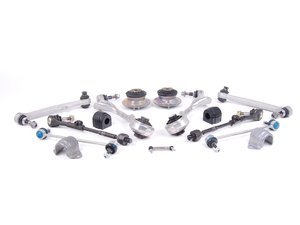 ES#2601975 - 31306775098KT - Front Suspension Refresh Kit - Level 2 - M3 spec front control arms, HD end links, sway bar bushings, strut mounts and tie rods for a total front suspension rebuild - with high quality aftermarket components - Assembled By ECS - BMW