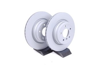"ES#2612405 - 34216855004KT1 - Rear Brake Rotors - Pair (336x22) - Features ""Z"" coat for corrosion resistance - Zimmermann - BMW"