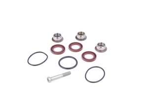 ES#2649641 - 00004306500 - Engine Front Reseal Kit - Includes camshaft and balance shaft seals, flanges, and o-rings - OE Aftermarket - Porsche