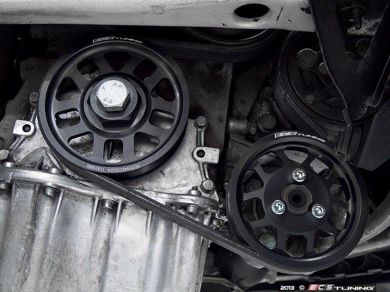 ECS News - ECS Super-Lightweight VR6 12v Crank Pulley