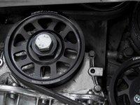 ES#2536 - VR612VCPKIT - ECS Super-Lightweight Crank Pulley - Black - Includes 13oz super-lightweight crank pulley, key way & securing bolt - ECS - Volkswagen