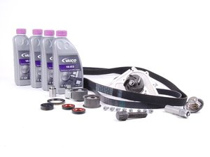 ES#2608080 - 078109119JKT5 - Ultimate Plus Timing Belt Kit - Complete timing belt kit includes G13 coolant - Assembled By ECS - Audi
