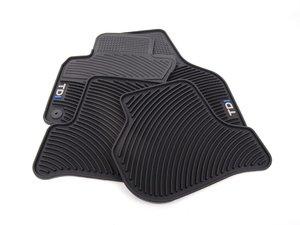 ES#1928713 - 1KM061550B041 - Monster Floor Mat Set - TDI - (NO LONGER AVAILABLE) - ss - Genuine Volkswagen Audi -