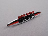 ES#253375 - 51117232803 - JCW Front Grille Badge - For JCW models and JCW tuning kits - Genuine MINI - MINI