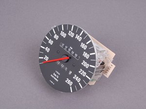 ES#171549 - 62121377348 - KM/H Speedometer - Kilometers an hour speedometer  - Genuine BMW - BMW