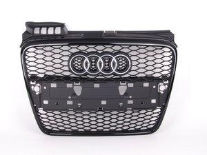 ES#438431 - 8E0853651AFVMZ - RS4 Grille Assembly - Black Optic - Bolt on stealthy look - Genuine Volkswagen Audi - Audi